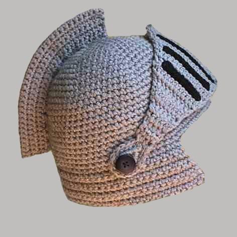 Gorro Tejido Al Crochet Medieval Boca Y Argentina Campeón !! -   550 ... b26c91d54ea