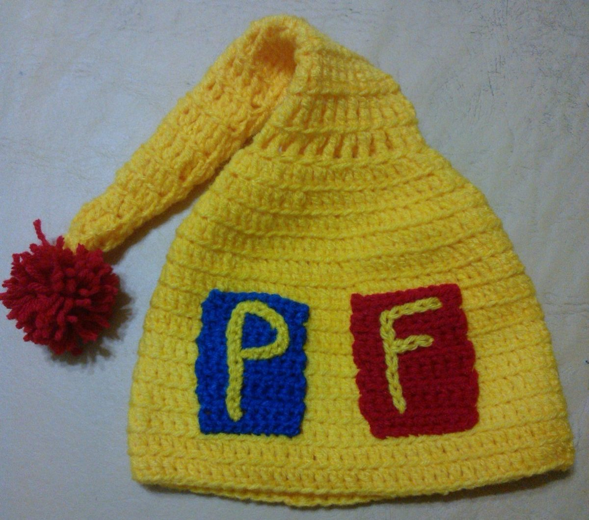 Gorro Tejido Al Crochet Piñon Fijo - $ 430,00 en Mercado Libre