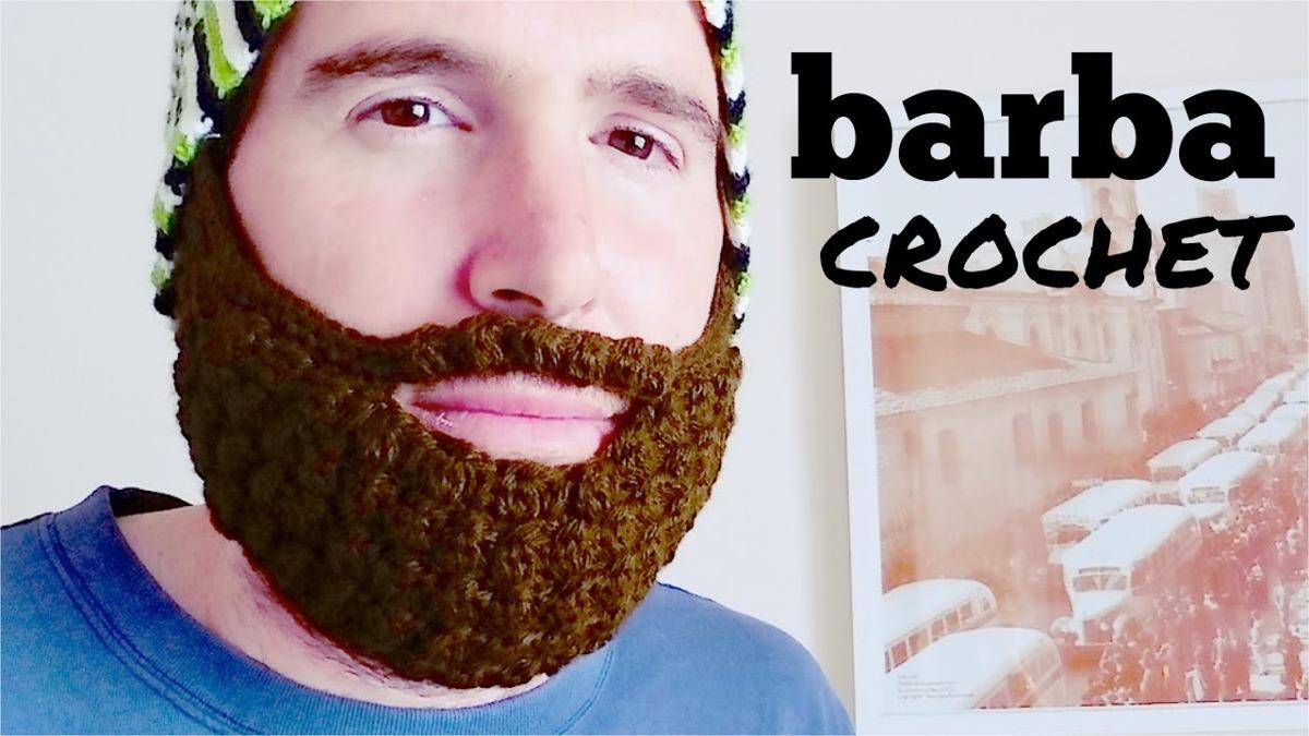 Gorro Tejido Con Barba/hecho A Mano/crochet Darick - $ 420.00 en ...