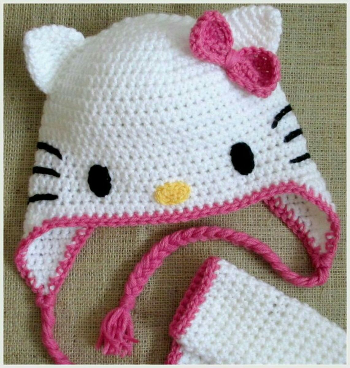 gorro tejido crochet bebe niño peppa pig mickey minnie etc. Cargando zoom. 8d42a9f7036