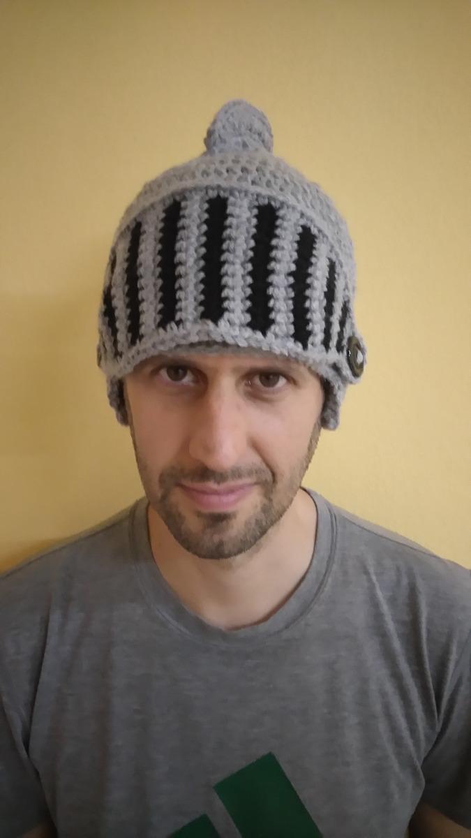 Gorro Tejido Crochet Modelo Medieval - Talle Adulto - $ 250,00 en ...