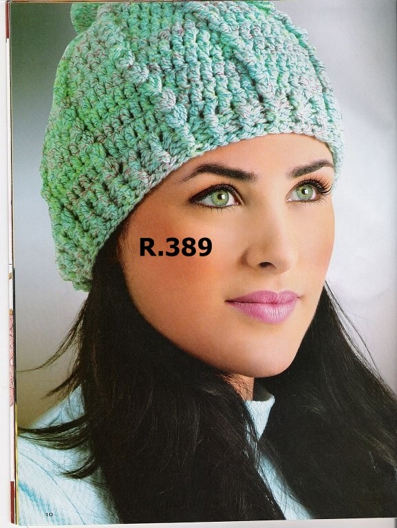 Gorro Tejido Crochet Mujer Dama Invierno Verano 5 - $ 300,00 en ...