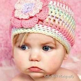 75313570cd35 Gorro Tejido Crochet Multicolor Para Bebe
