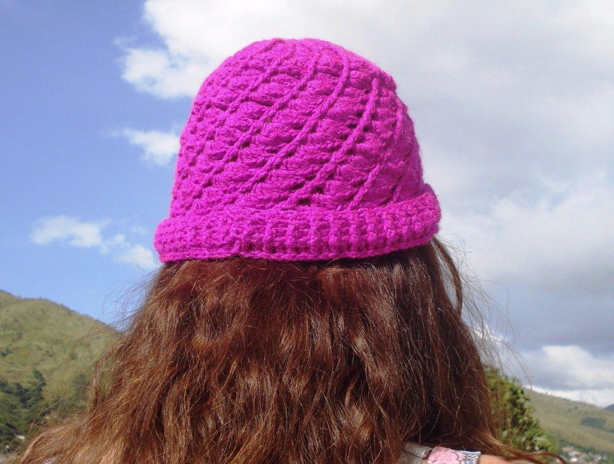 gorro tejido en crochet con diseño espiral. Cargando zoom. 44c3221ad9d