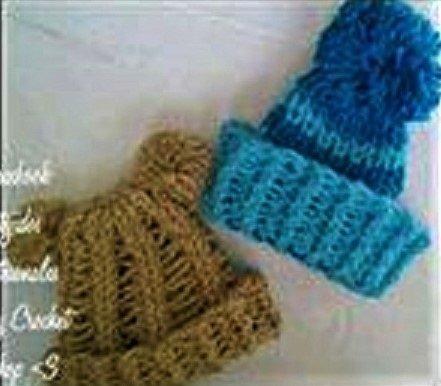 994ab7d43a58d Gorro Tejido Para Bebé Recien Nacido Niño Niña Crochet  10 -   65.00 ...