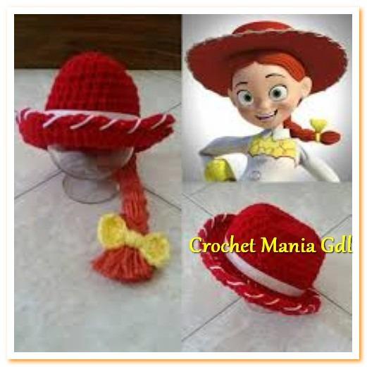 a14756cf8f545 Gorro Tejidoa Crochet Para Niña Jessy Toy Story -   100.00 en ...