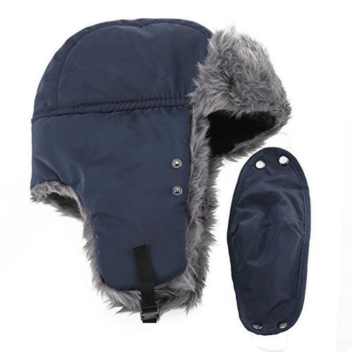 gorro termico aviador ruso polar nordico frio extremo alpino