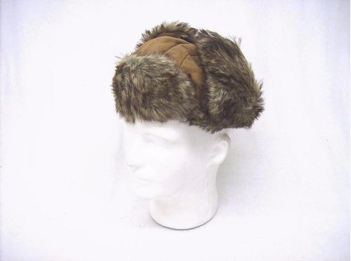 gorro térmico ruso con orejeras para invierno frió viajes