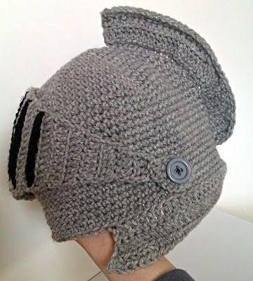 Gorro tipo casc medieval tejido pasamonta as - Trabajos manuales de ganchillo ...