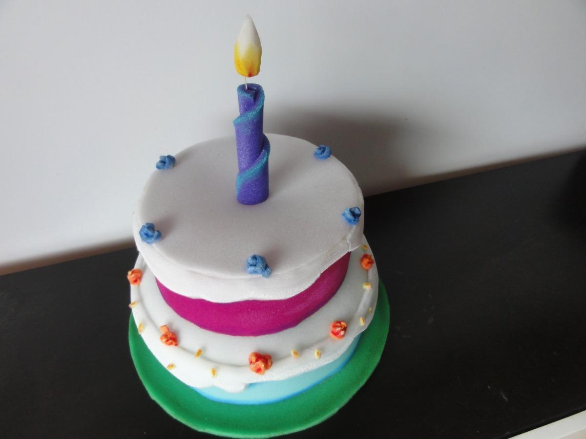 gorro torta cumpleaños cotillon goma espuma (niños adultos). Cargando zoom. cf14760910b