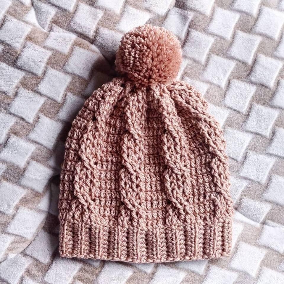 e397a32c11046 gorro touca crochê lã pompom feito a mão crochê trico. Carregando zoom.