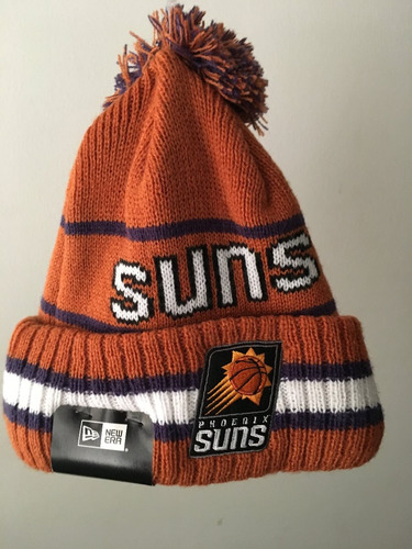 gorro touca phoenix suns new era nba
