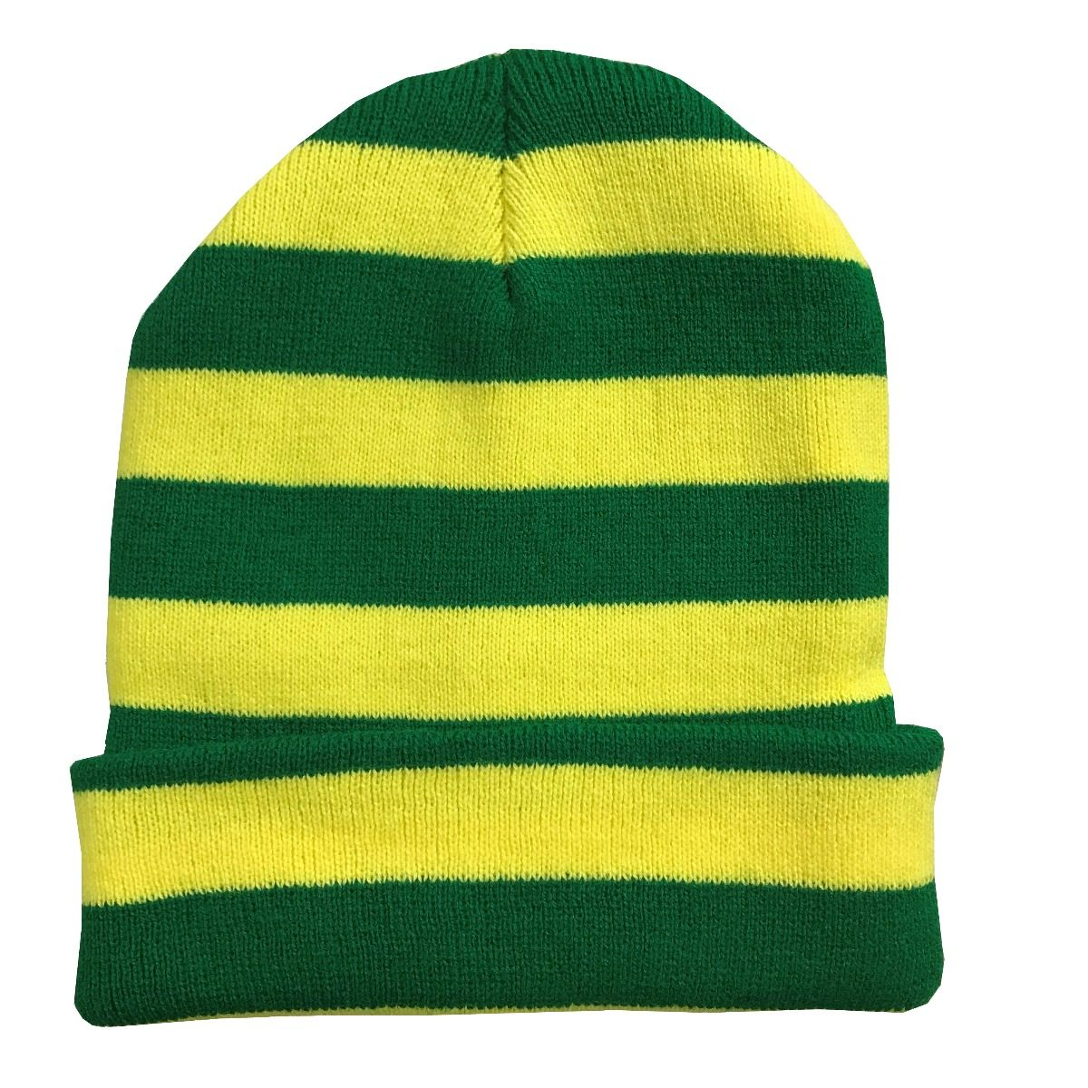 gorro touca verde amarelo brasil. Carregando zoom. 9a43cd40107