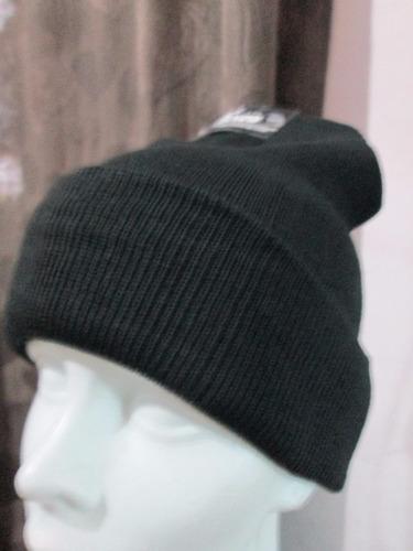 gorro unitalla tipo liso con doble tela algodon para frio