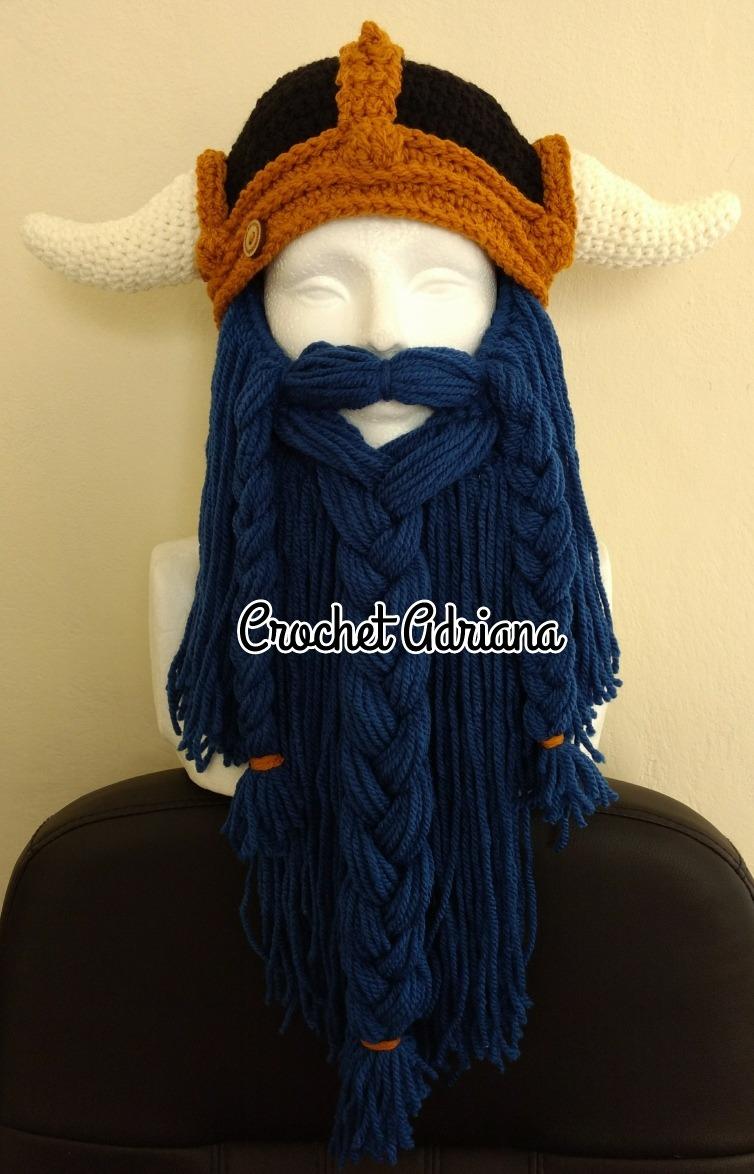 Gorro Vikingo Barba Azul Acero -   750.00 en Mercado Libre 9badcf82e07
