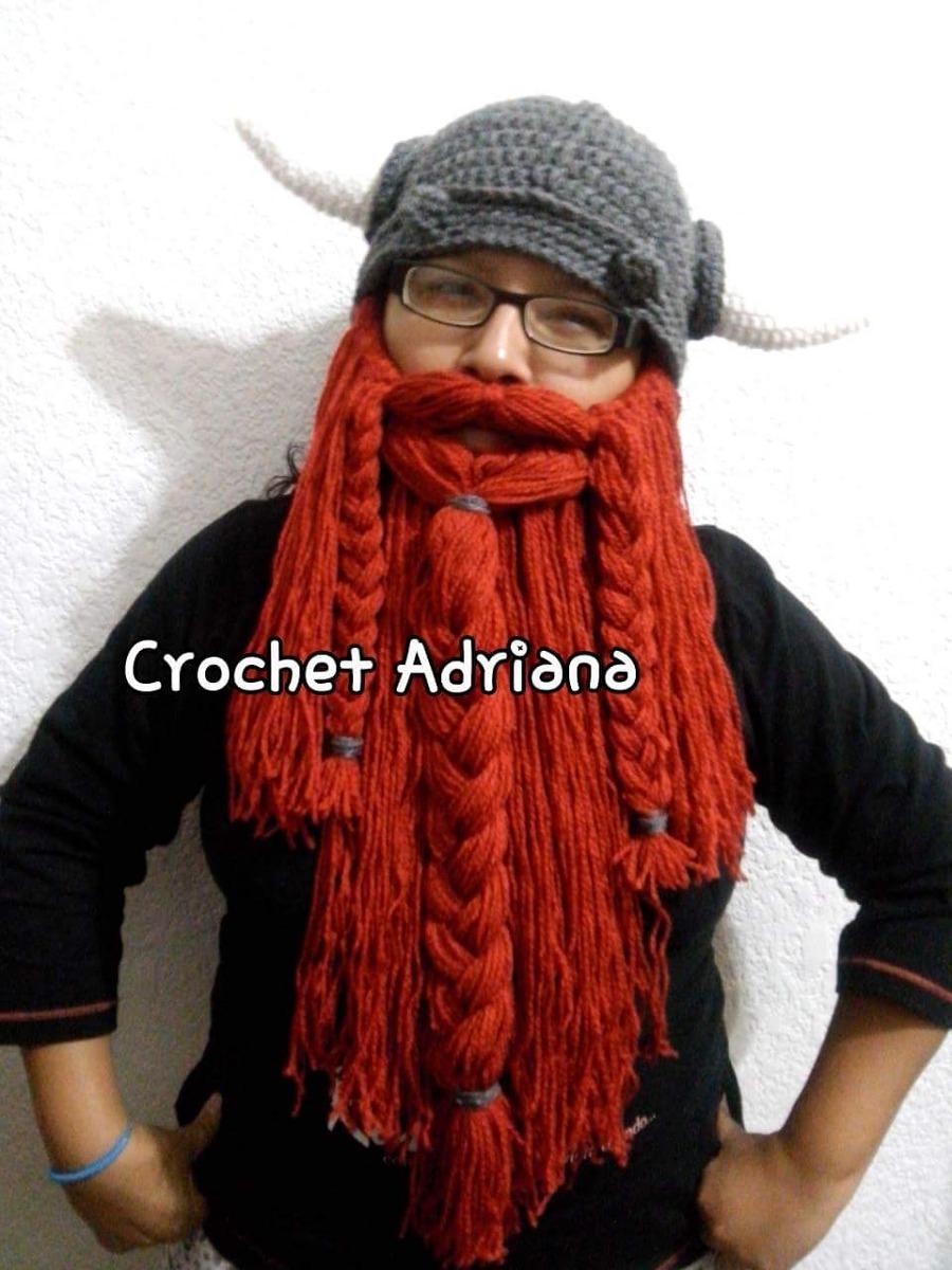 Excelente Patrón Libre De Ganchillo Sombrero Barba Motivo - Ideas de ...