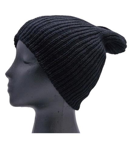 gorro y bufanda cuello  ropa termica  invierno frio negro