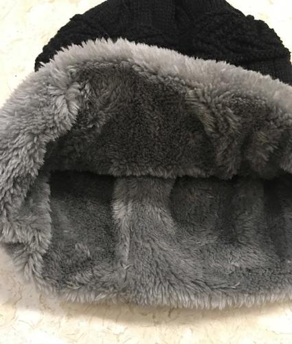 gorro y bufanda niño invierno tejida suave