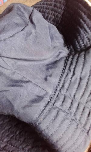 gorro/a reversible impermeable y polar nuevo para dama