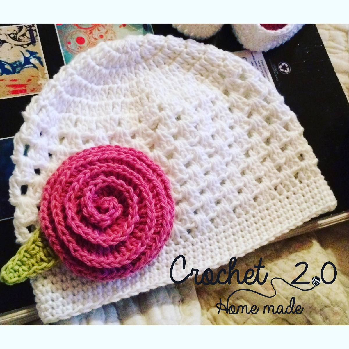 gorros a crochet para bebe hechos a mano en mercado libre. Black Bedroom Furniture Sets. Home Design Ideas