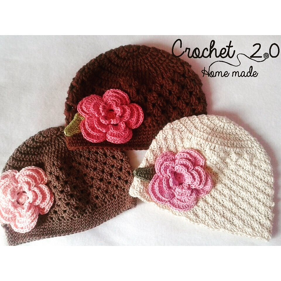 gorros a crochet para bebe hechos a mano en mercado libre. Black Bedroom Furniture Sets. Home Design Ideas