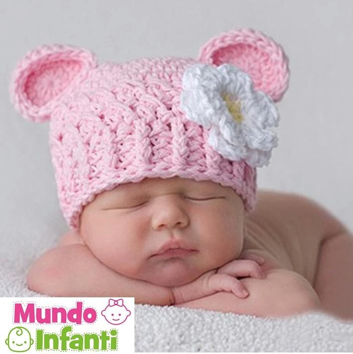 ba5f8d65cf63a Gorros A Crochet Para Bebés