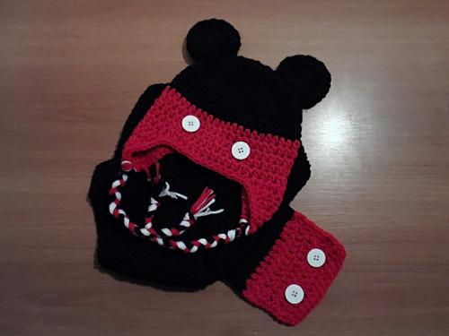 gorros a crochet x mayor , r/n hasta 12 meses x 10