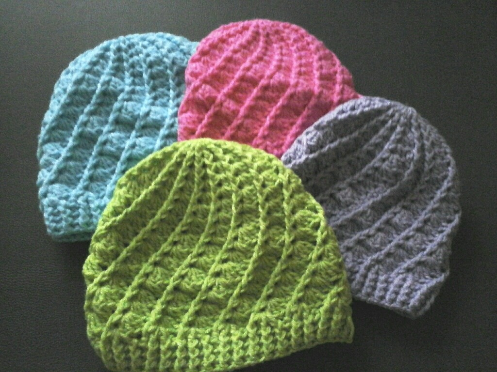 Gorros Artesanales Tejidos A Crochet. Creaciones V M -   350 11e0656ad77