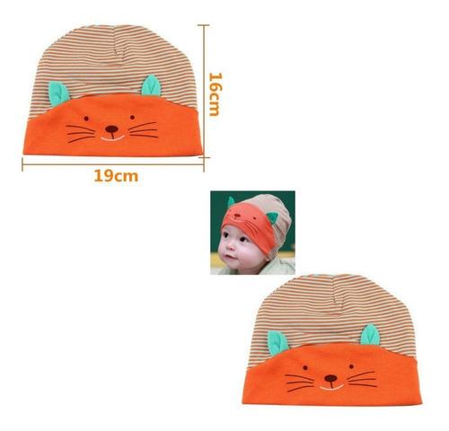 gorros bebe niño niña gatos