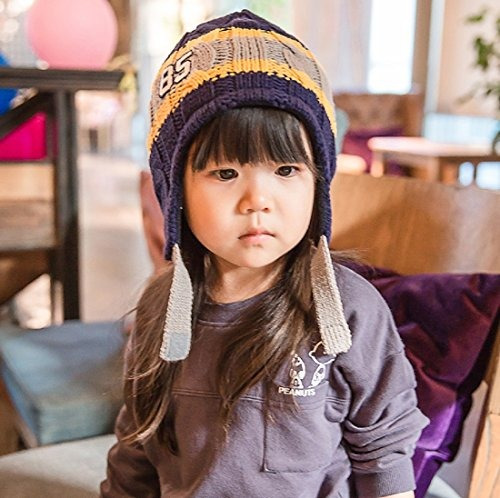 gorros connectyle toddler kids warm fleece lined  buho store