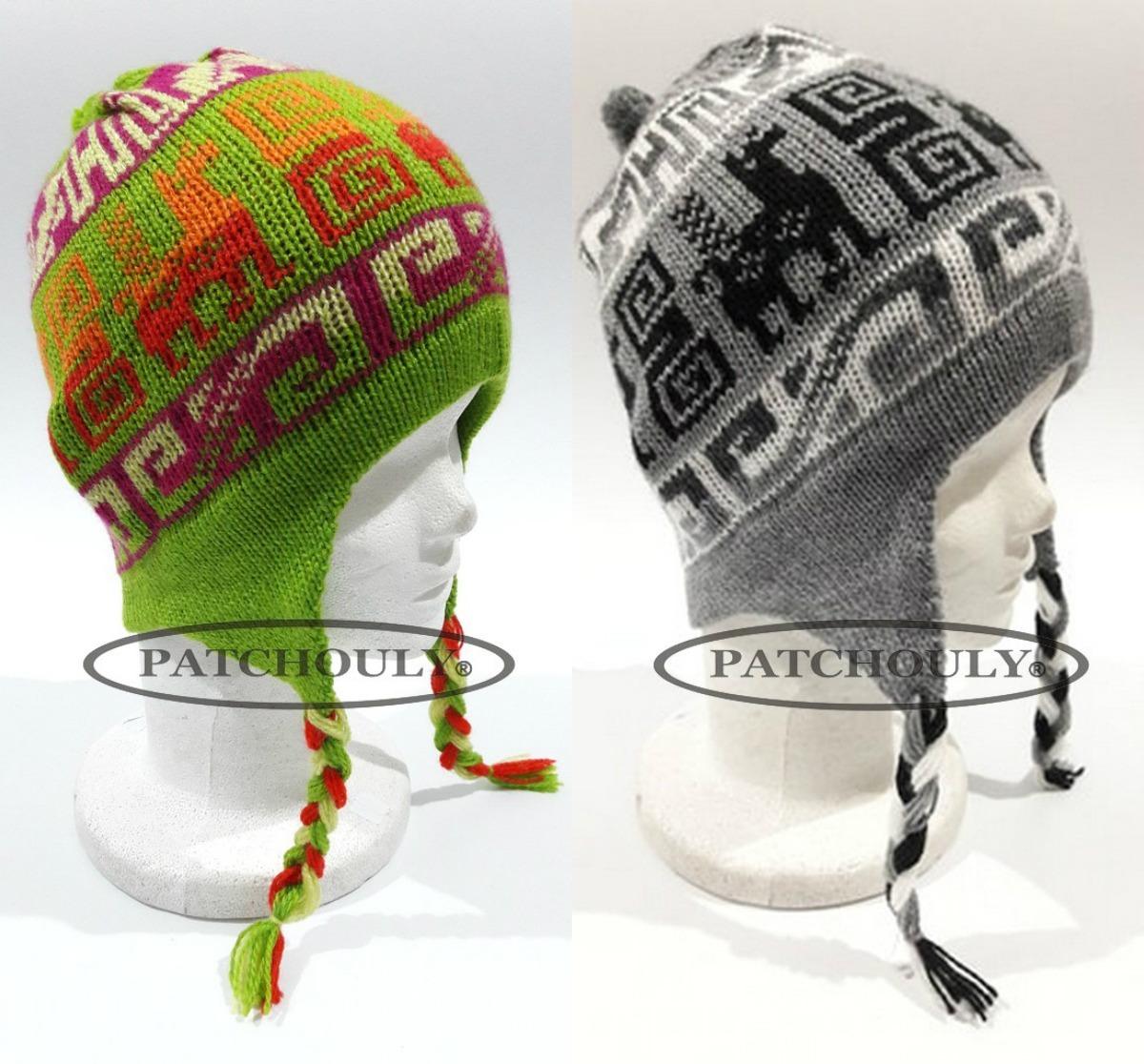 gorros coya lana de alpaca con orejeras chullo andinos color. Cargando zoom. fb48b9416f5