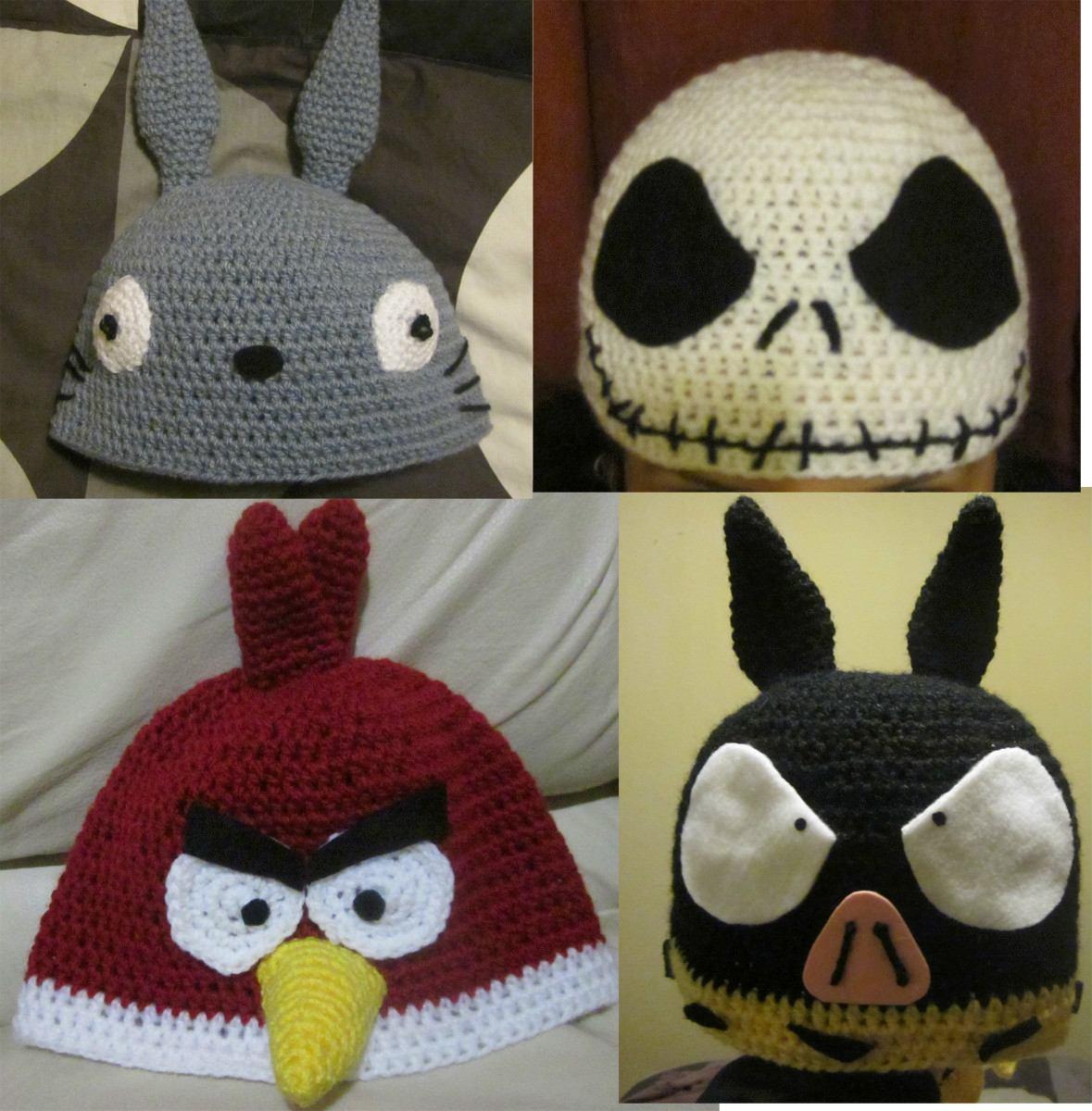 cb55a344d2caa free gorros crochet bender homero kirby totoro pchan y ms with gorros de  lana a ganchillo