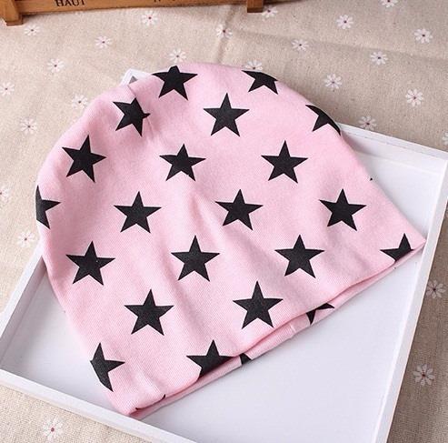 gorros de algodón estrella unisex para bebès y niños