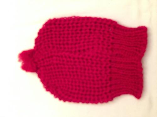 gorros de bebe ñiño en lana que no pica
