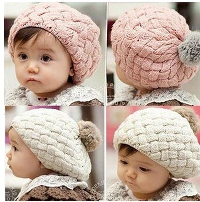 gorros de lana para bebes