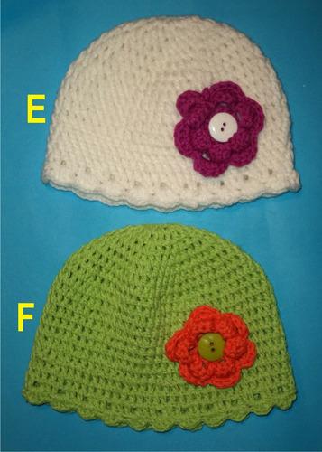 gorros de lana y algodón unisex (2 año)
