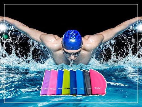 gorros de natación 100% de silicona talla estándar