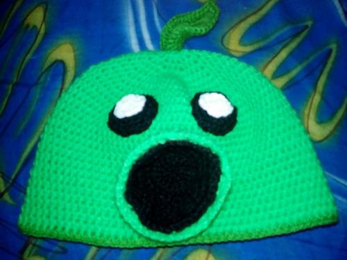 gorros de personajes tejidos a crochet