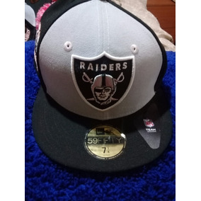 632454a5985c2 Nfl Gorra New Era Oakland Raiders Adulto 59fifty Tapa Plana