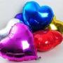Globos Metalizados Corazón Estrella Luna 45 Cm Grande Helio