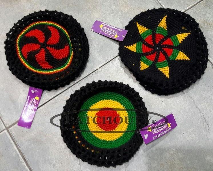 Gorros Hilo Rasta Jamaica Artesanal Unisex - $ 380,00 en Mercado Libre