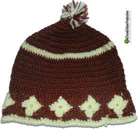 b327c913e Gorro Corona A Crochet Estilo - Ropa y Accesorios en Mercado Libre ...