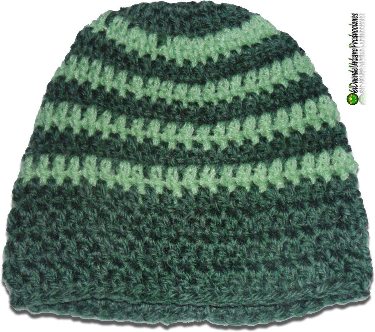 b27535e36 gorros infantiles tejidos crochet unisex mod. verde + rayas. Cargando zoom.