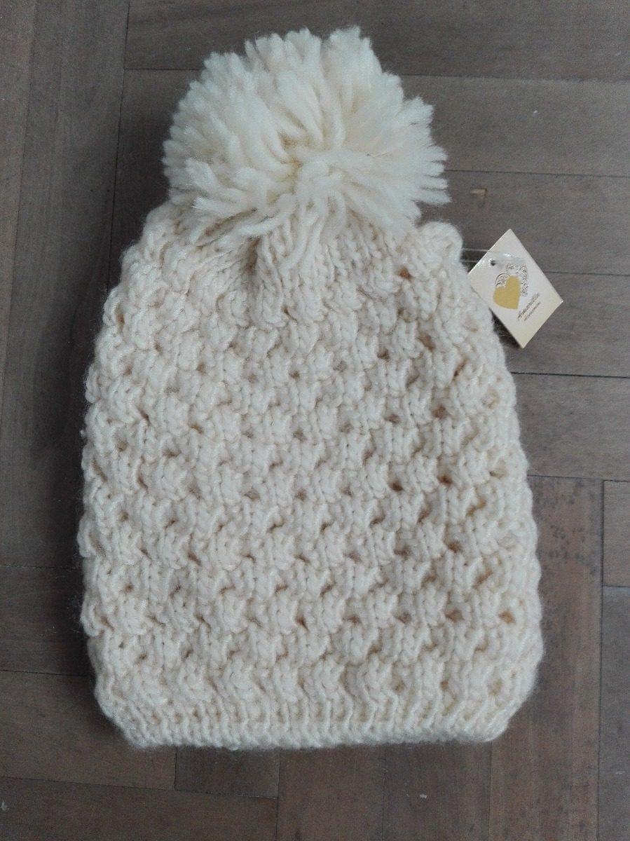 gorros lana mujer tejidos con pompón. Cargando zoom. 6f6b9914cd9