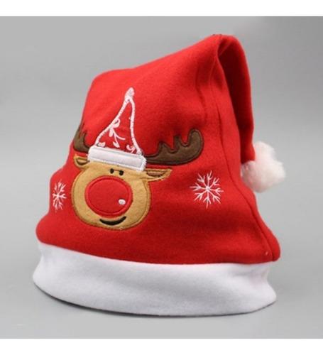 gorros navidad bordados adorno decoración accesorios novena