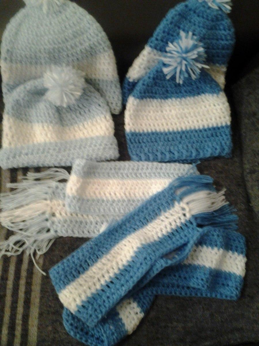 gorros o bufandas   vamos argentina tejidos al crochet. Cargando zoom. 95516f2a432