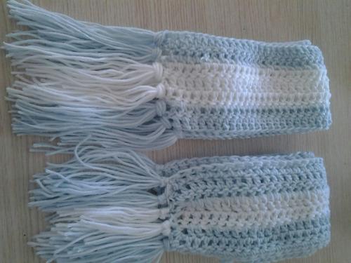 gorros o bufandas # vamos argentina tejidos al crochet