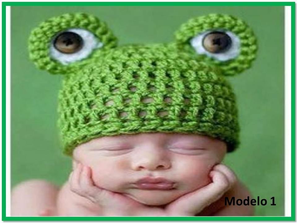 gorros para bebe tejidos a crochet. Cargando zoom. a9df612ad7f