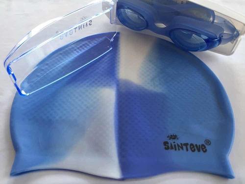 gorros para natación piscina en silicona nuevo