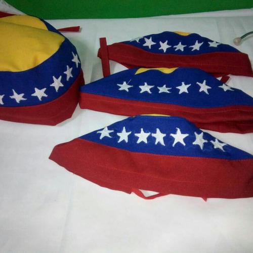 gorros quirurgicos tricolor
